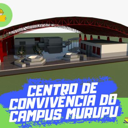 Assinatura do futuro Centro de Convivência da Escola Agrotécnica da UFRR