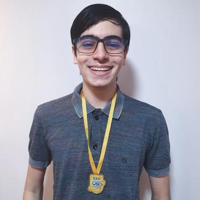 Estudante do CODAI conquista medalha de ouro na Olimpíada Brasileira de Astronomia e Astronáutica