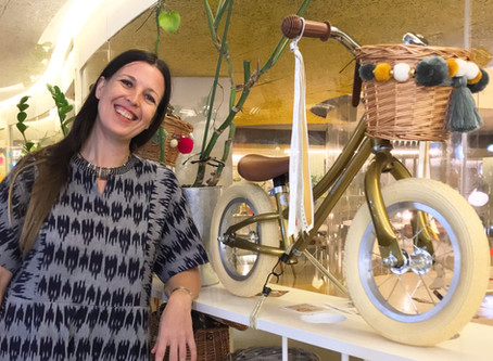 Interview with Sian Emmison, co-founder of Bobbin Bikes