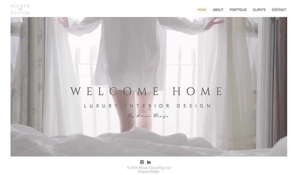 Alcasr Design Homepage Screen Shot.png