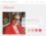 Lizi Jackson Barrett website About page
