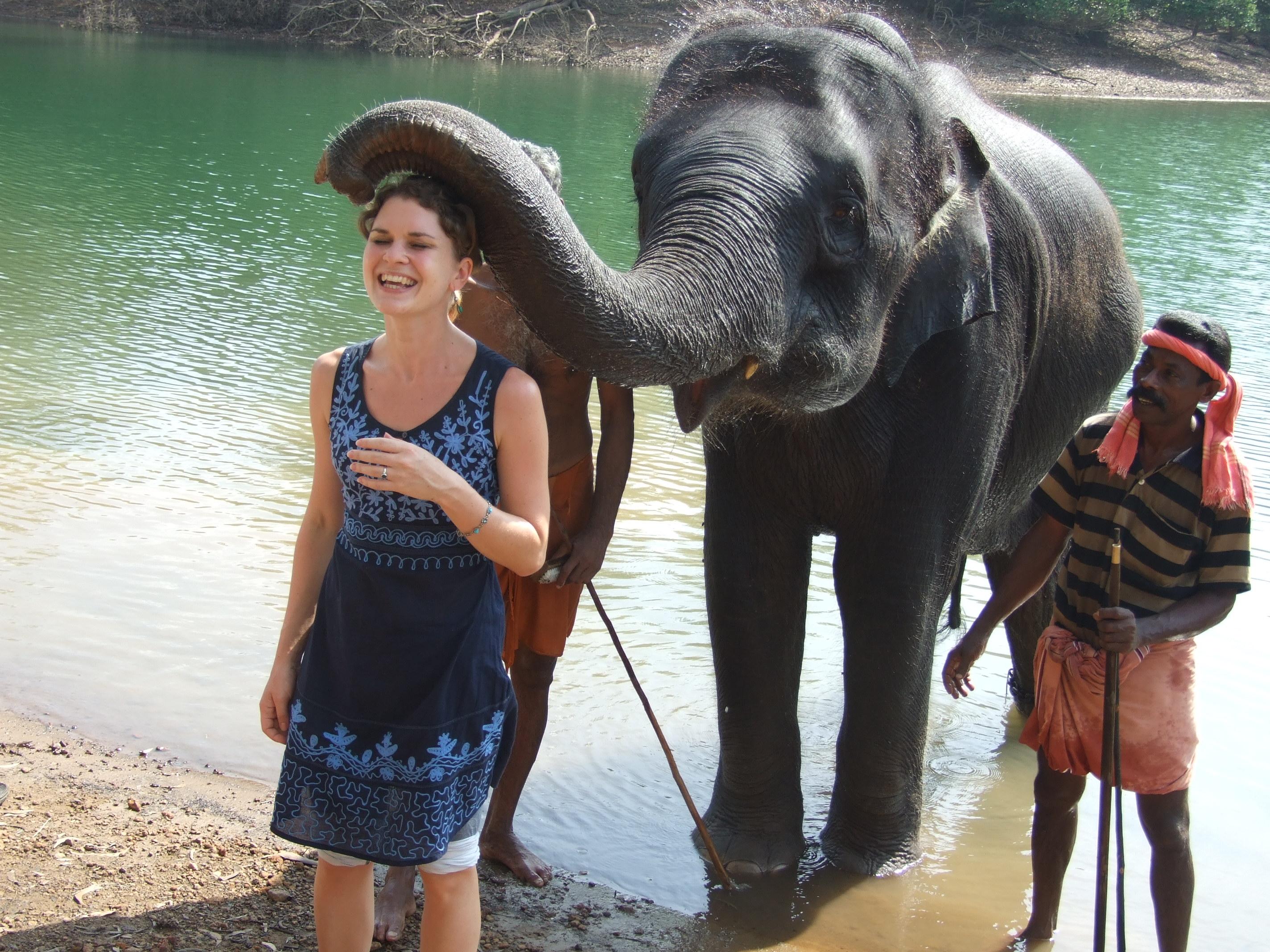 Návštěva sloní rezervace