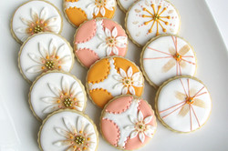 Summer Floral Cookies