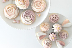 Ombre Swirled Cookies & Cupcakes