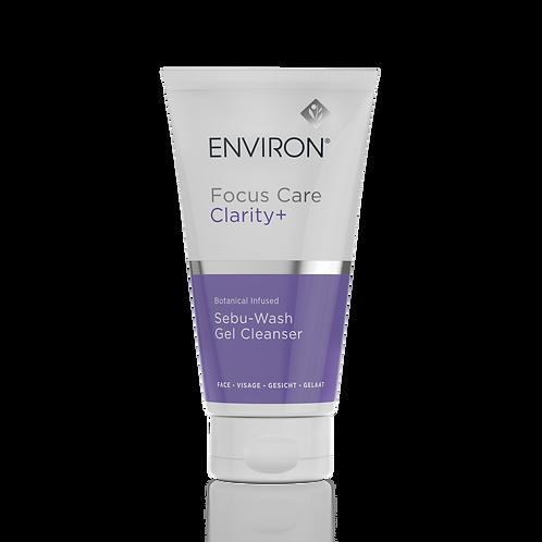 Focus Care Clarity+ Botanical Infused Sebu-Wash Gel Cleanser