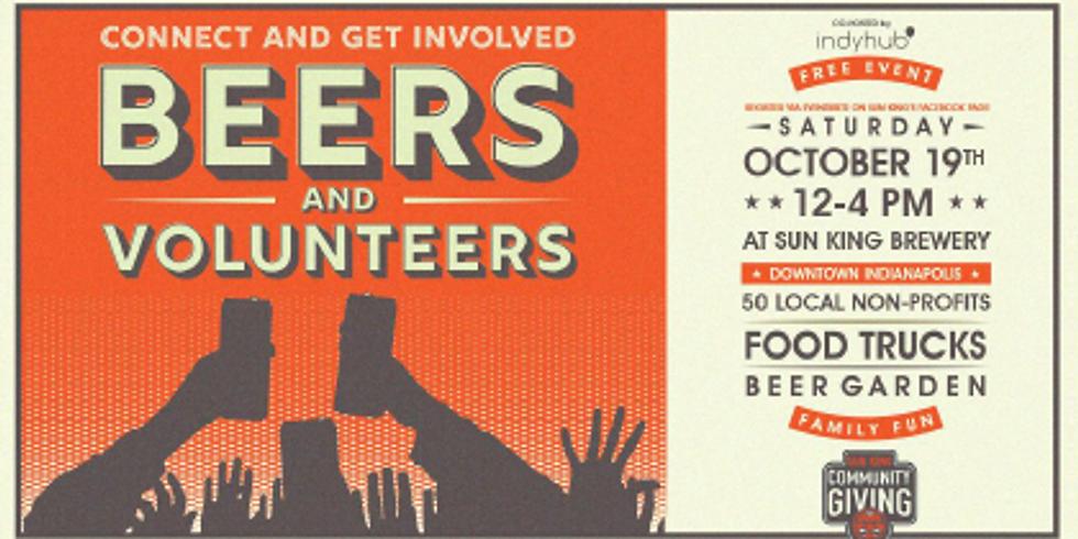 Sun King Brewery's Beers and Volunteers