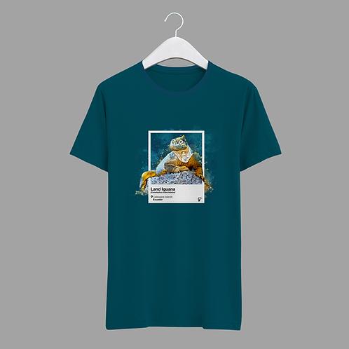 Endemic T-shirt I Galapagos Iguana