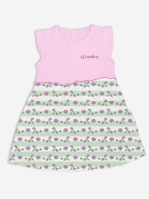 Pattern Dress I Sea Lion