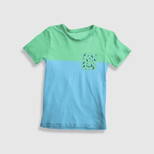 Short Sleeve Pocket Shirt I Toucan