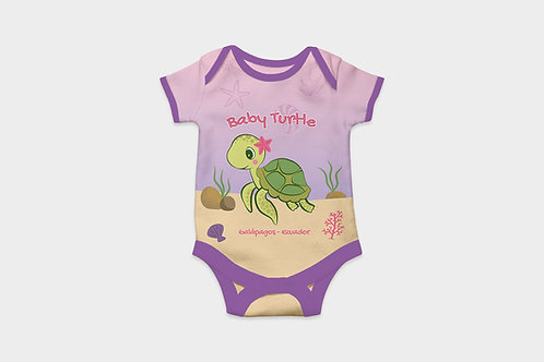 Full Color Babysuits I Sea Turtle Babygirls