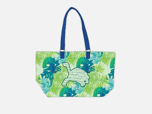 Pattern Tote Bag I Tortoise