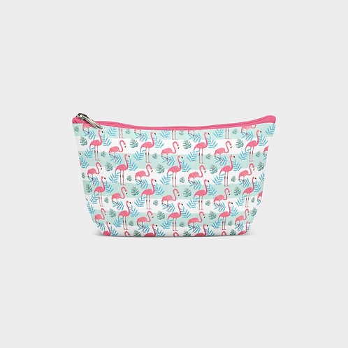 Line Pouch Bag I Flamingo