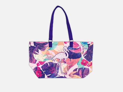 Pattern Tote Bag I Flamingo