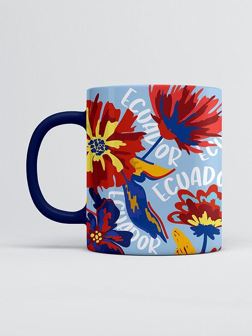 Ecuador Mug I Flowers Ecuador