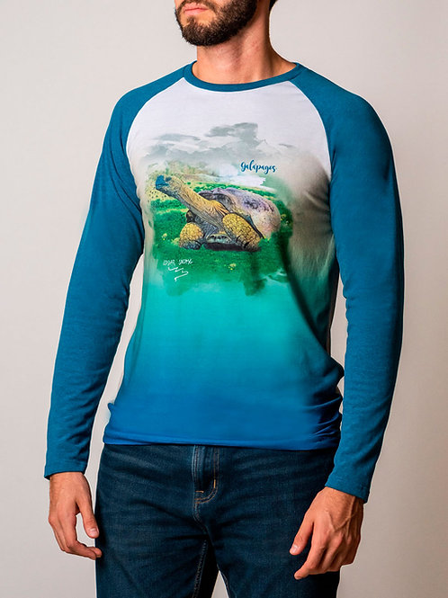 Artist Edition I Edgar Jacome I Long Sleeve Shirt I Galapagos Tortoise