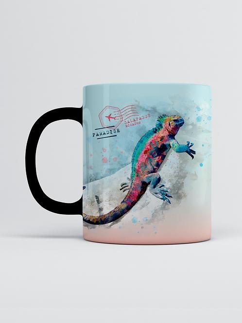 Endemic Mug I Marine Iguana