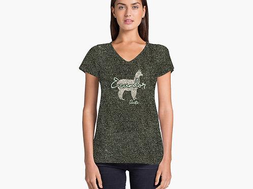 Mosaic T-shirt I Llama