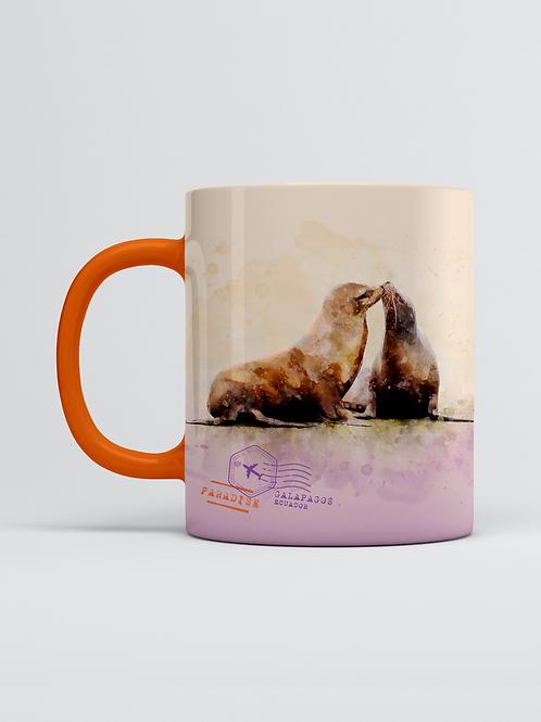 Endemic Mug I Sea Lion