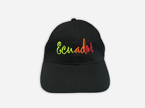 Ecuador Cotton Cap I Ecuador Black