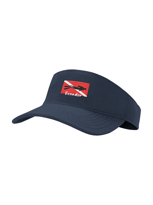 Visor Hat I Navy I Diving