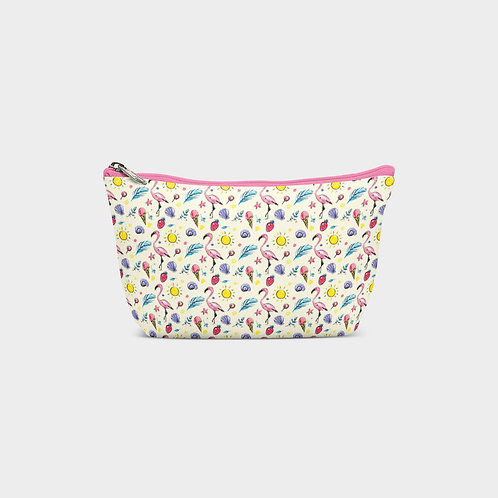 Ice Cream Pouch Bag I Flamingo