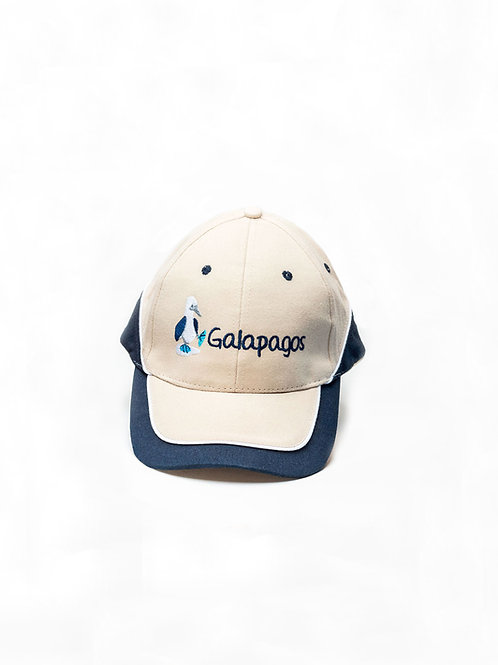 Three Colored Cap I Khaki & Navy I Bluefoot Booby