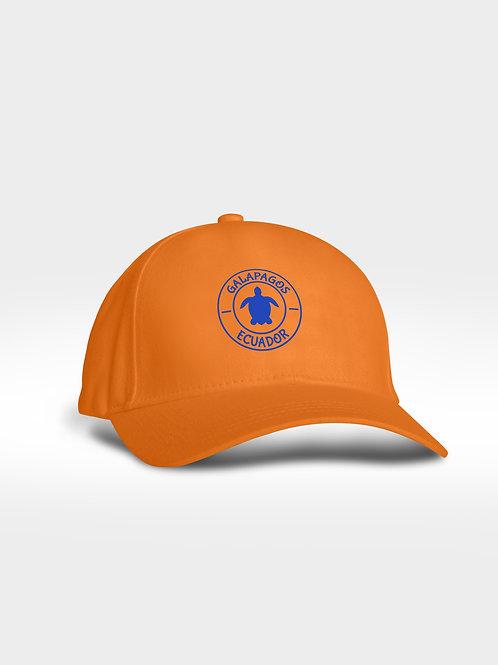Microfiber Cap I Orange I Sea Turtle