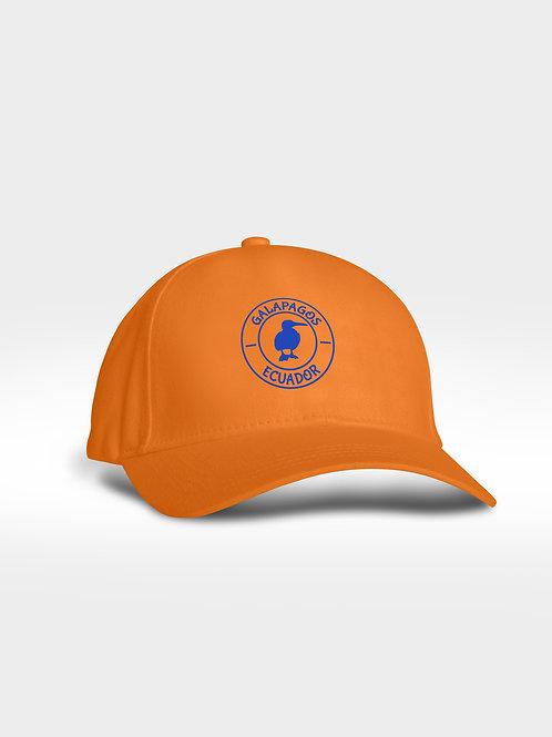 Microfiber Cap I Orange I Bluefoot Booby