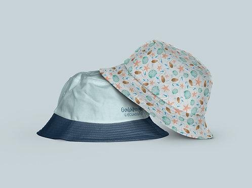 Kids Bucket Hat Reversible I Piquero