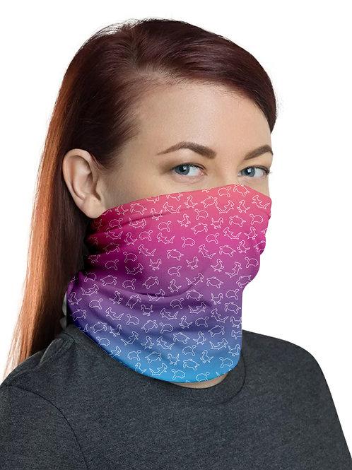 Gradiente Pattern Multifunction Headwear I Pink Gradient
