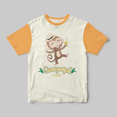 Watercolor Animals I Monkey