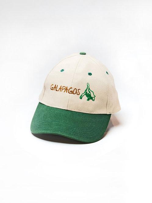 Two Colored Cap I Khaki & Green I Tortoise