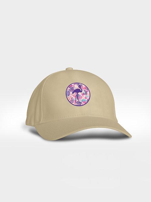 Seal Pattern Cap I Flamingo