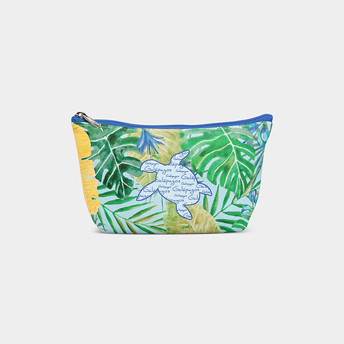 Pattern Pouch Bag I Sea Turtle