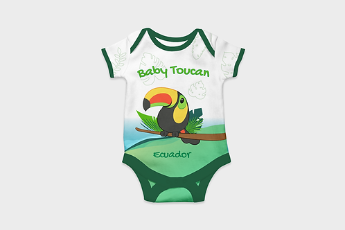 Full Color Babysuits I Toucan