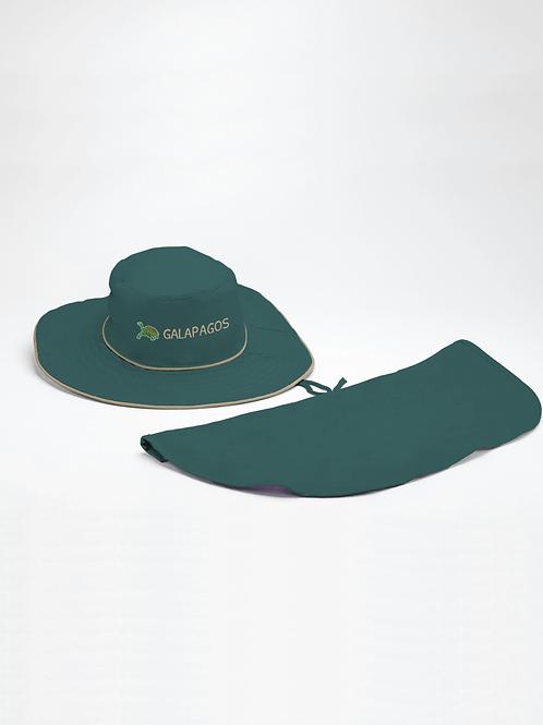 Safari Hat I Green I Tortoise