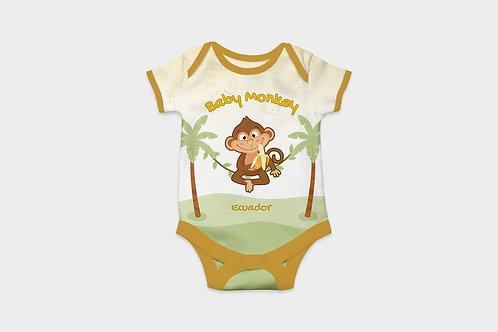 Full Color Babysuits I Monkey