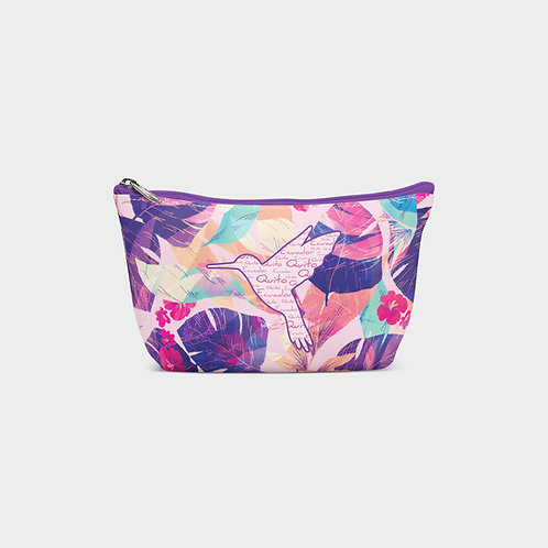 Pattern Pouch Bag I Hummingbird