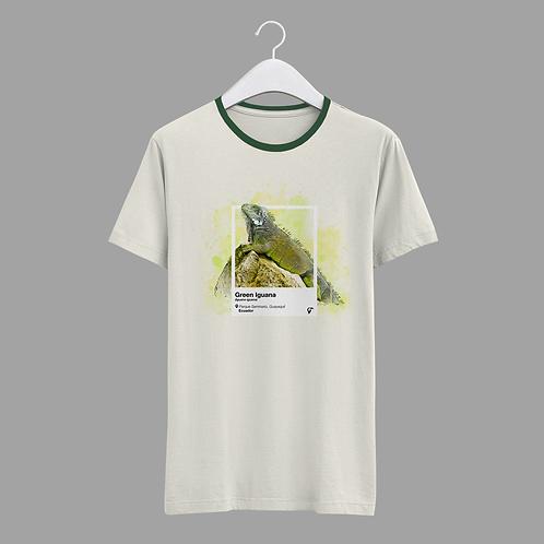 Endemic T-shirt I Green Iguana