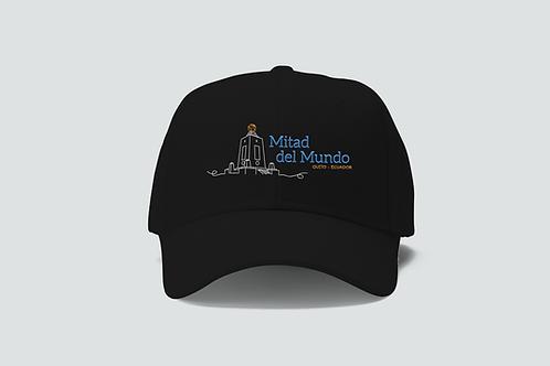 Quito Cotton Cap I Black I Mitad del Mundo