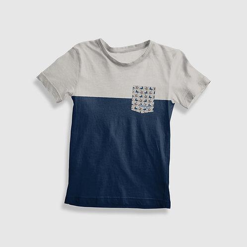 Short Sleeve Pocket Shirt I Sea Lion