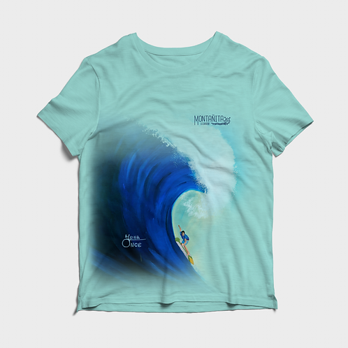 Artist Edition I Irma Once I Short Sleeve Shirt I Montañita Wave