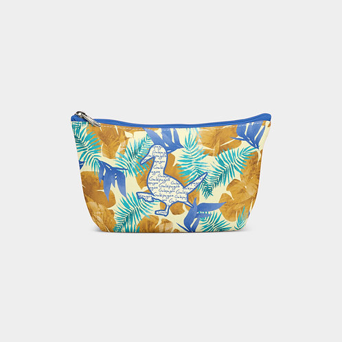 Pattern Pouch Bag I Bluefoot Booby