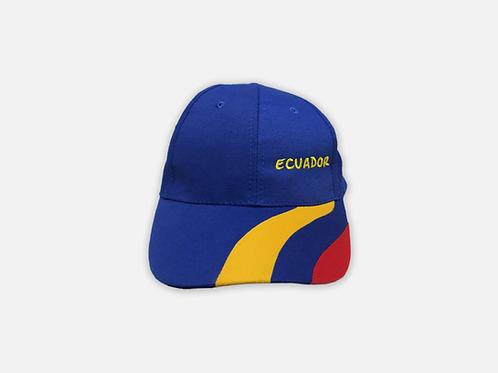 Ecuador Cotton Cap I Tricolor I Blue I Ecuador