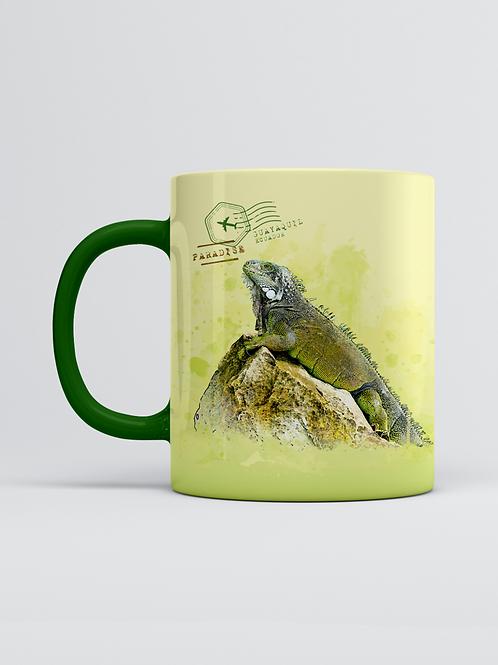 Endemic Mug I Green Iguana