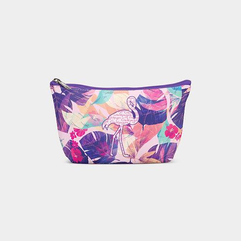 Pattern Pouch Bag I Flamingo