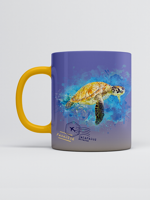 Endemic Mug I Sea Turtle
