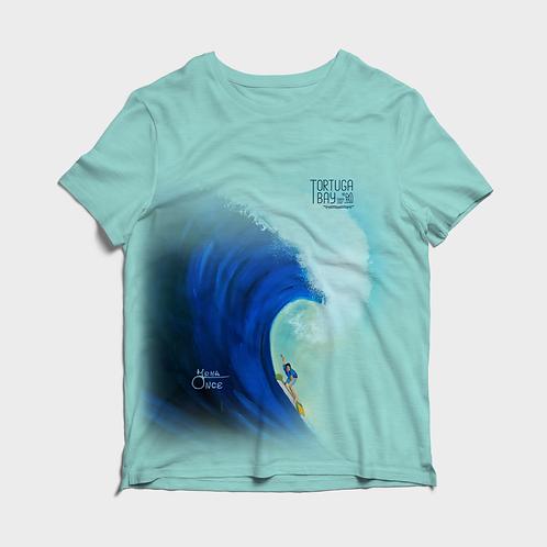 Artist Edition I Irma Once I Short Sleeve Shirt I Tortuga Bay Wave