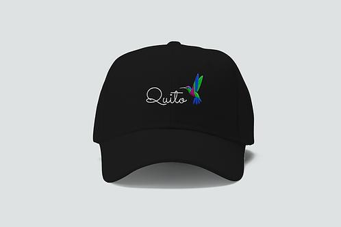 Quito Cotton Cap I Quito Hummingbird