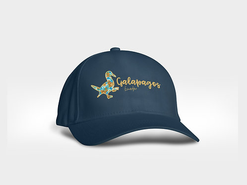 Letters Pattern Cap I Navy I Bluefoot Booby
